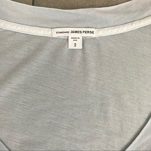 James Perse Tops - James Perse light blue relaxed v neck shirt!